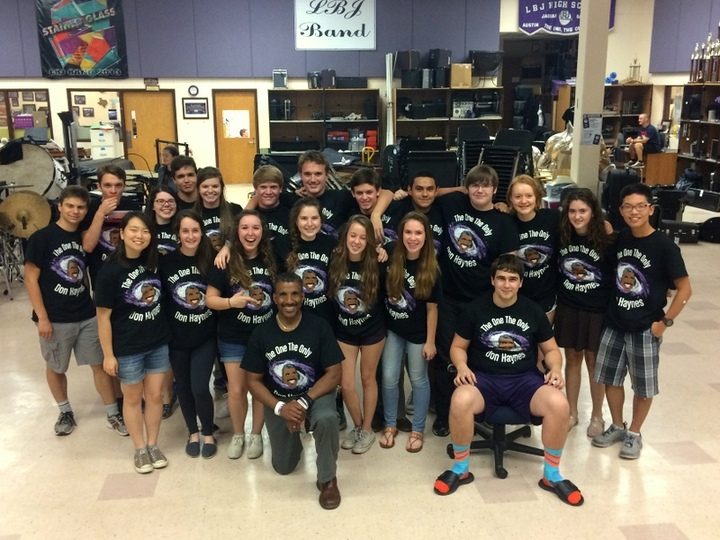 We Love Our Band Director T-Shirt Photo