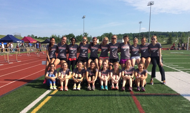 Penfield Girls Track And Field Takes Sectionals T-Shirt Photo