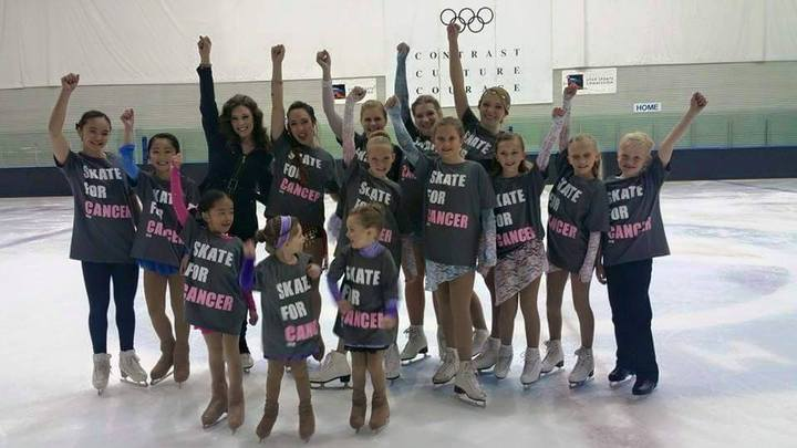 Skate For Cancer T-Shirt Photo