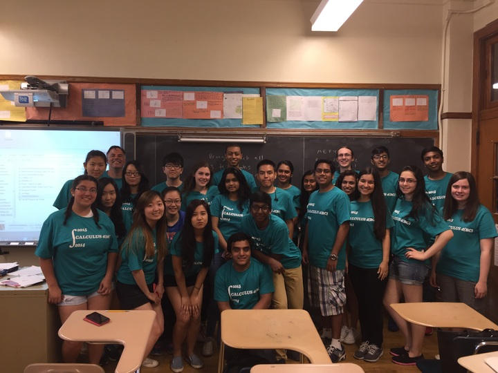 Bayside Hs Bc Calculus 2014 2015 T-Shirt Photo
