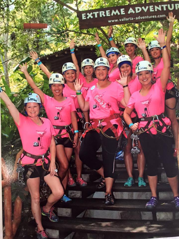 Puerto Vallarta Extreme Zip Lining T-Shirt Photo