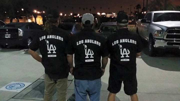 The Los Anglers Crew Heading Out For Another Fishing Charter T-Shirt Photo