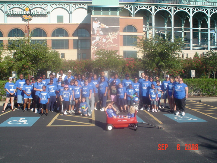 Biomat Usa Houston Hemophilia Walk 2008 T-Shirt Photo