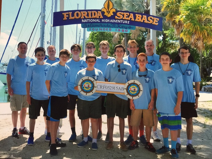 Bsa Sea Base Troop 677 T-Shirt Photo