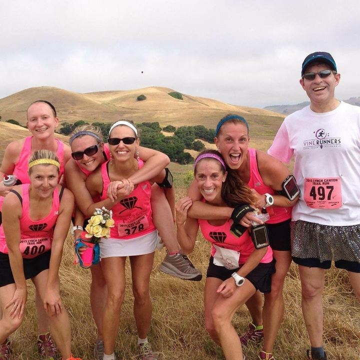 Trail Running Of The Bride! T-Shirt Photo