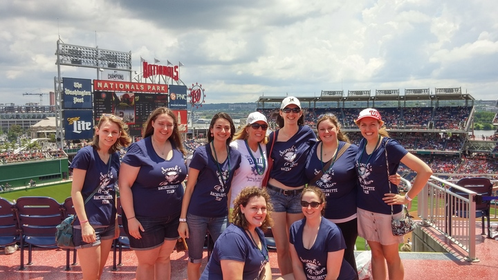 Baseball Bachelorette: Our Shirts Were A Home Run! T-Shirt Photo