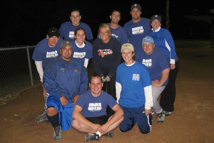 Dunder Mifflin Softball T-Shirt Photo