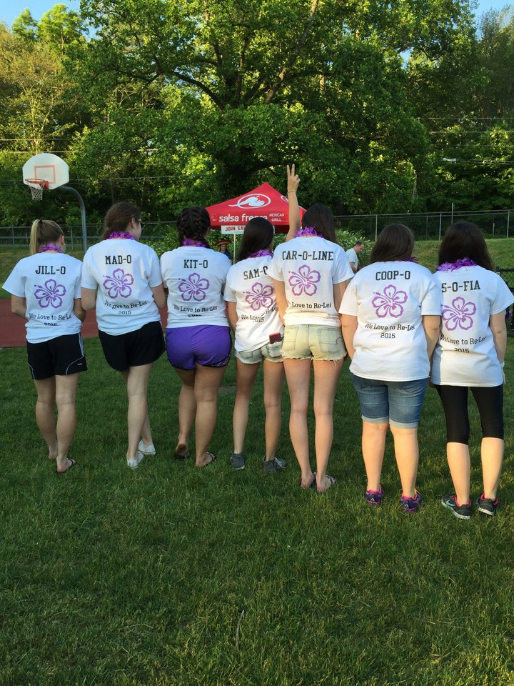 Hawaii Cure 0 Relay For Life 2015 T-Shirt Photo