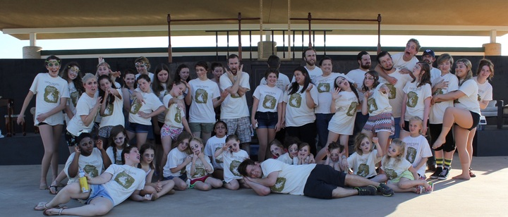 "Upstage Theatre Rocks ""Secret Garden"" Shirts! T-Shirt Photo"