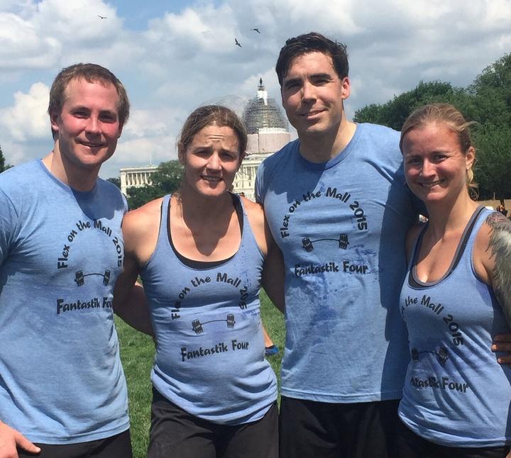 Flex On The Mall Competiton Team T-Shirt Photo