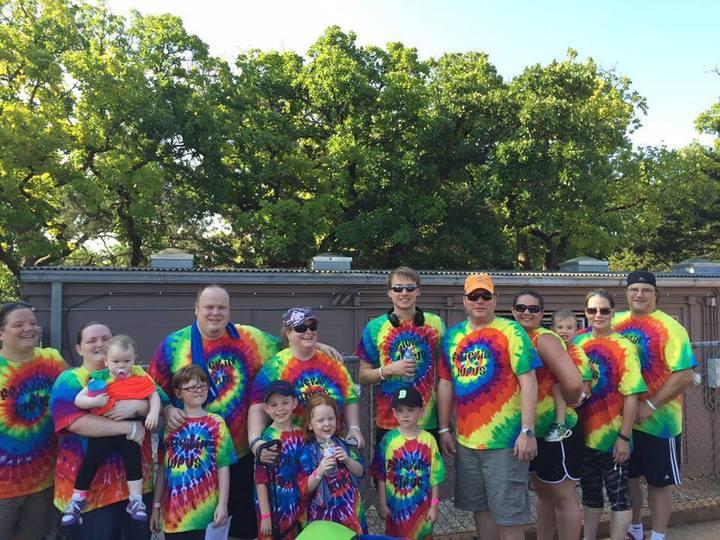Lupus Okc Walk 2015 T-Shirt Photo