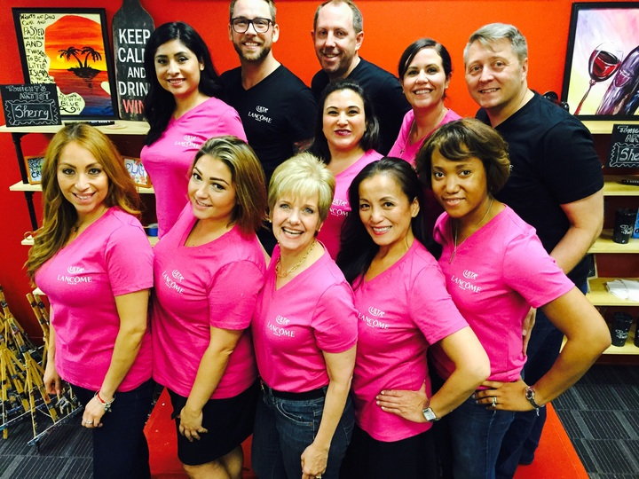 Lancome Meeting Of Ulta Sales & Education Trainers  T-Shirt Photo