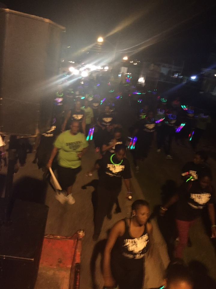 Glow In The Dark Walkathon T-Shirt Photo