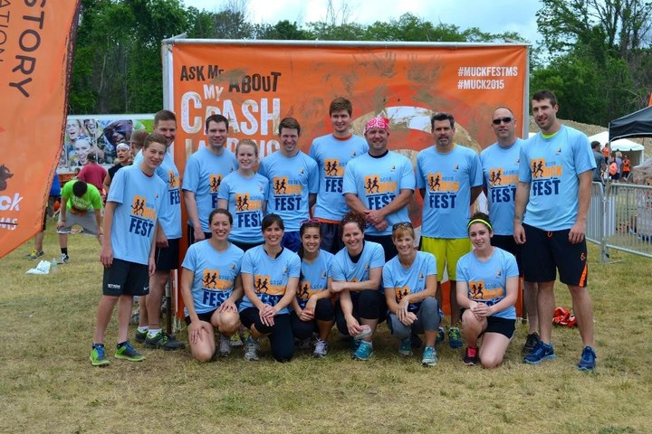 All4 Gets Down And Dirty At Muckfest Philadelphia T-Shirt Photo