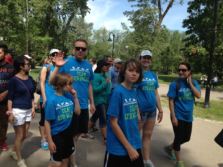 Team Atb Walks T-Shirt Photo