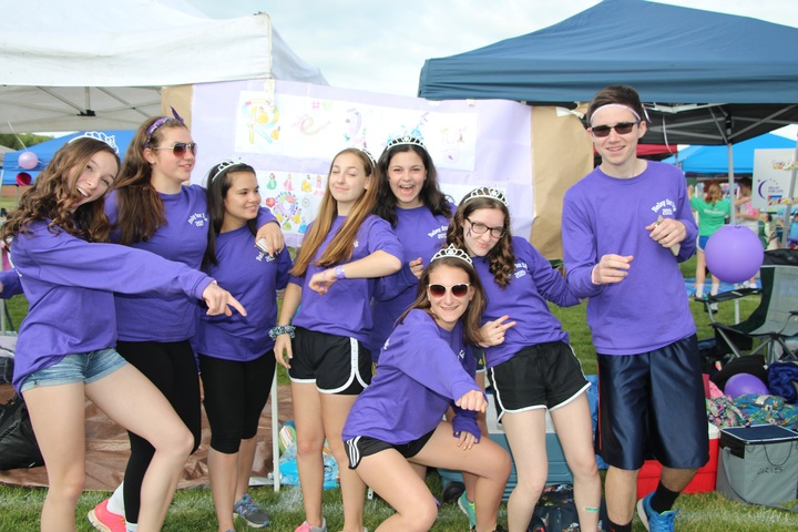 Relay Royals Fight For A Cure T-Shirt Photo