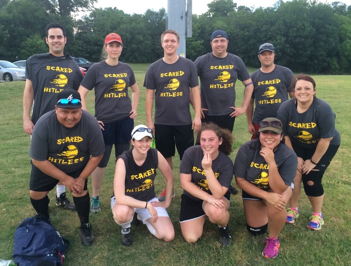 Scared Hitless For The Win!! T-Shirt Photo