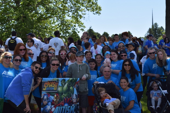 Autism Avengers Assemble! T-Shirt Photo