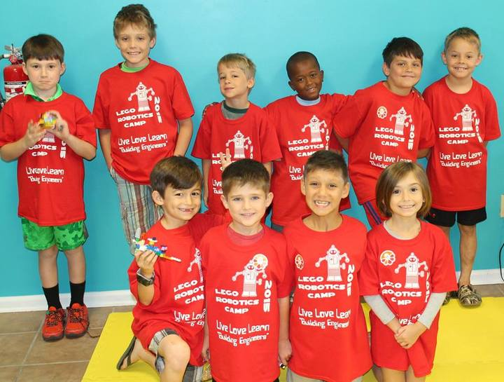 Lego Robotics Camp T-Shirt Photo