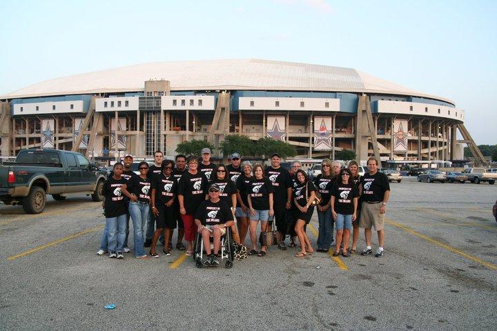 Bears At Texas Stadium T-Shirt Photo