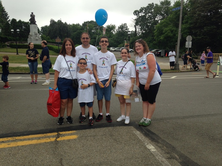 Autism Walk June 14, 2015 T-Shirt Photo
