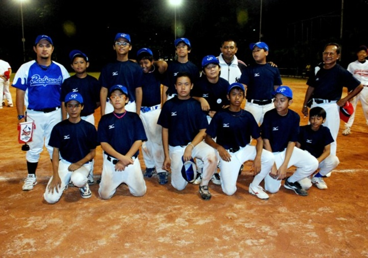 After Games On Macan Baseball Competition T-Shirt Photo