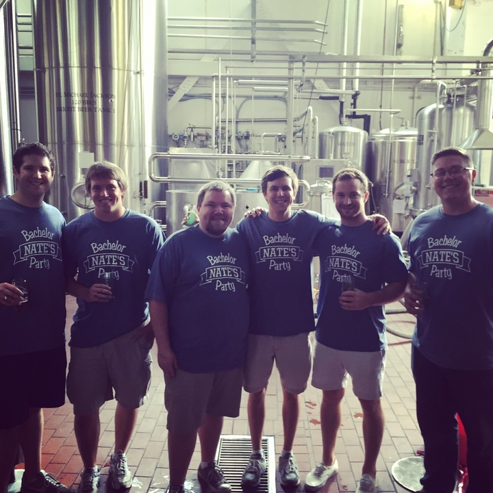 Bachelors At The Brewery T-Shirt Photo