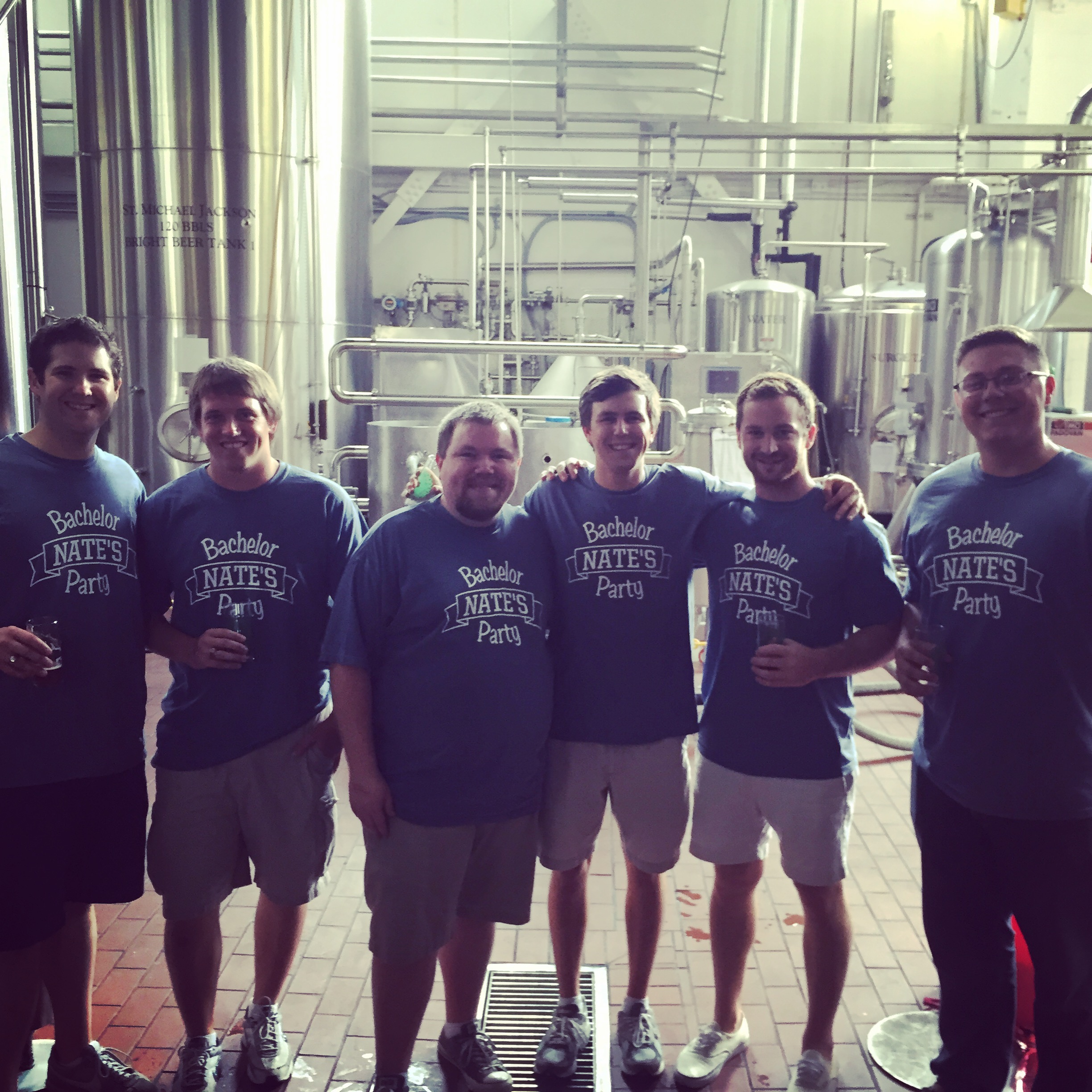 Custom T Shirts For Bachelors At The Brewery Shirt Design Ideas