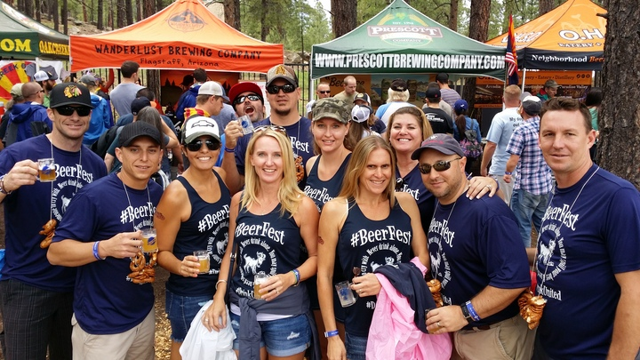 Flagstaff Az Beerfest T-Shirt Photo