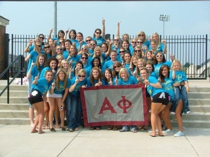 Alpha Phi Delta Eta's Bid Day T-Shirt Photo