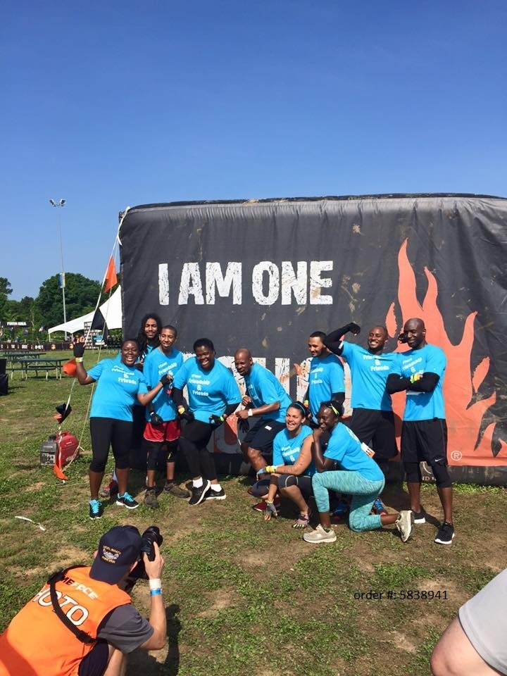 Friendship & Friends At Tough Mudder, Va 2015 T-Shirt Photo