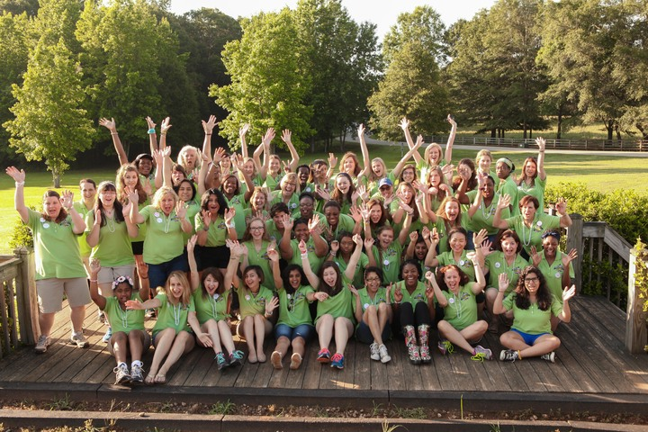 Camp Ceo With Girl Scouts Atl T-Shirt Photo