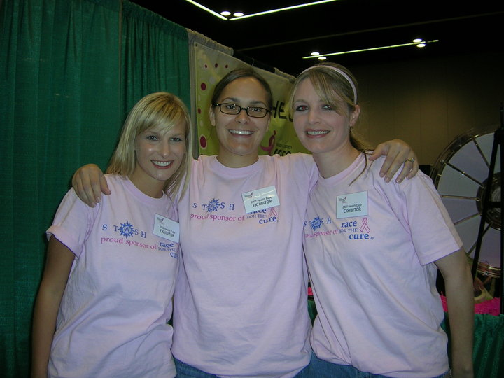 Stash Tea Girls At Susan G. Komen Race For The Cure T-Shirt Photo