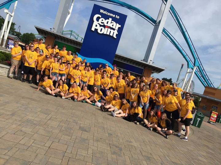 Bay City Western Bands Visit Cedar Point T-Shirt Photo