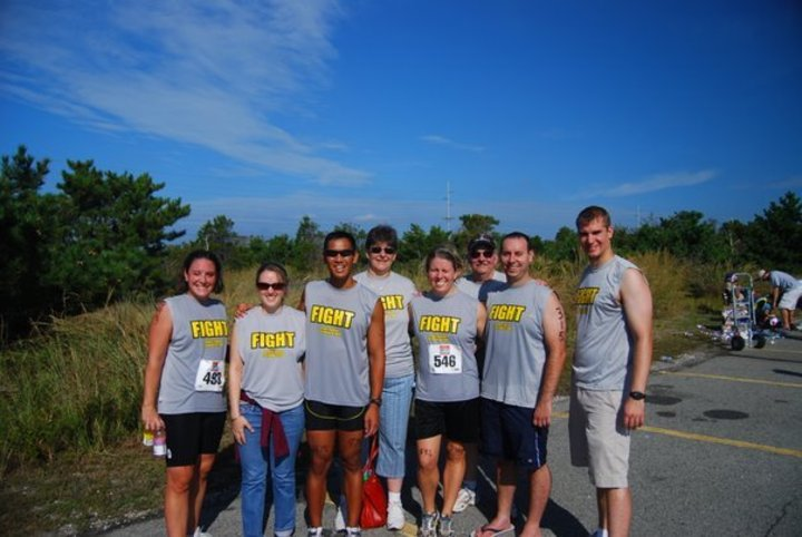 College Friends Compete In The Dewey Triathlon T-Shirt Photo