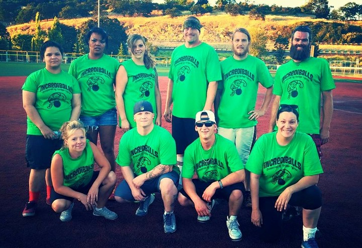 Incrediballs Team Photo T-Shirt Photo