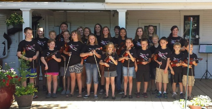Summer Violin Camp 2015 T-Shirt Photo