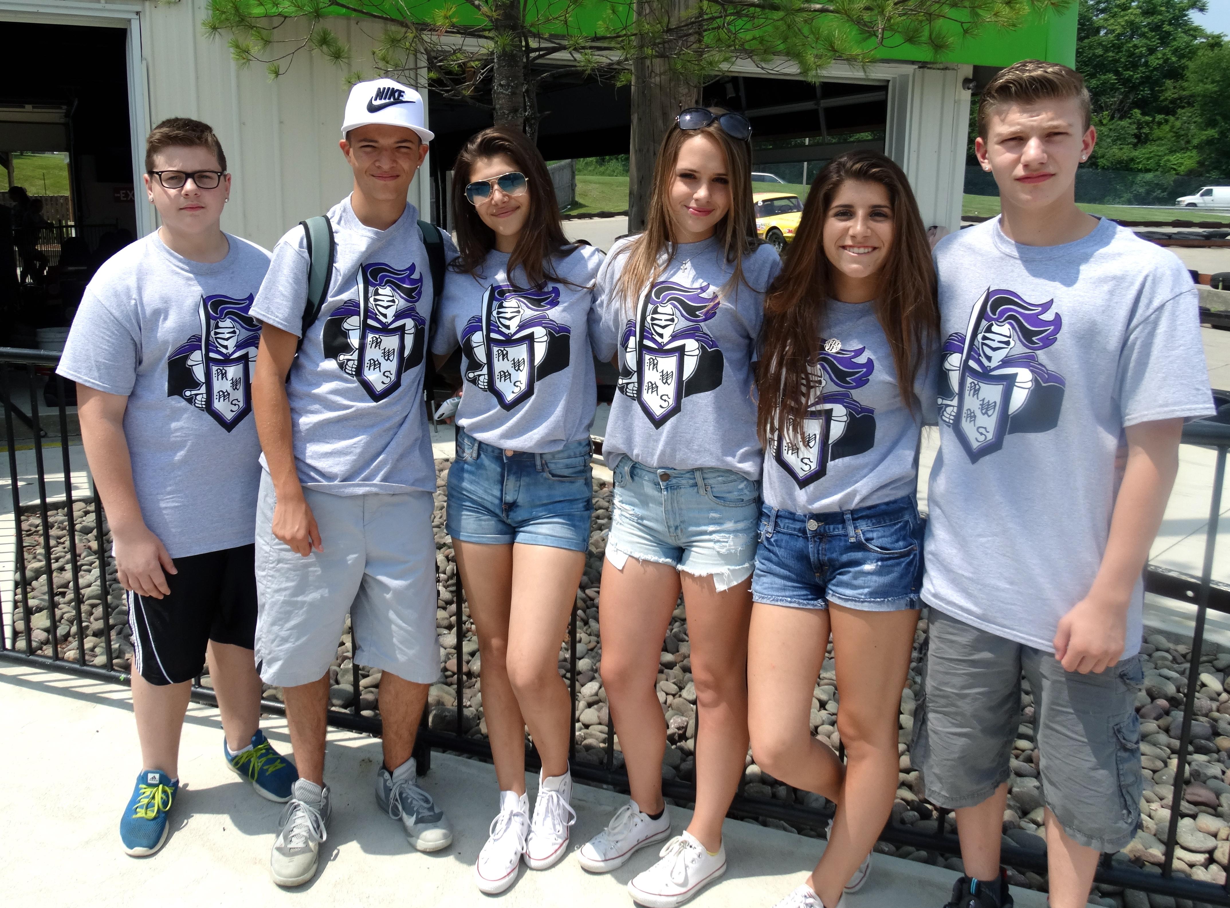 Custom T-Shirts for Monroe Woodbury Middle School - Shirt Design Ideas