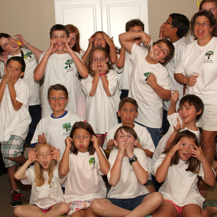 Our (Funny, Goofy & Quirky) God Created Family T-Shirt Photo