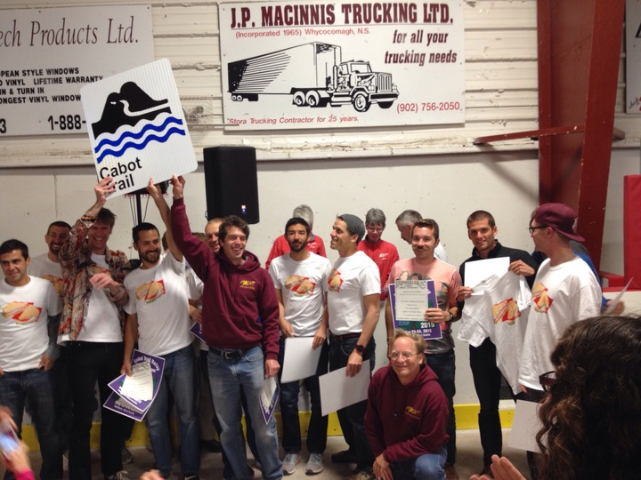 Maine Iacs: 5 Straight Ctrr Titles T-Shirt Photo