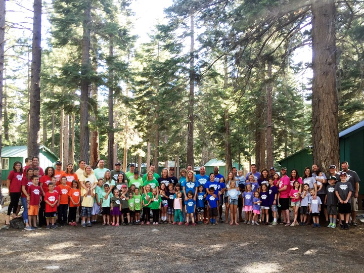 Family Camp 2015 T-Shirt Photo