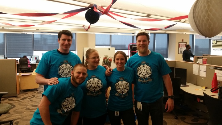 Champions 2015  Team Pride T-Shirt Photo