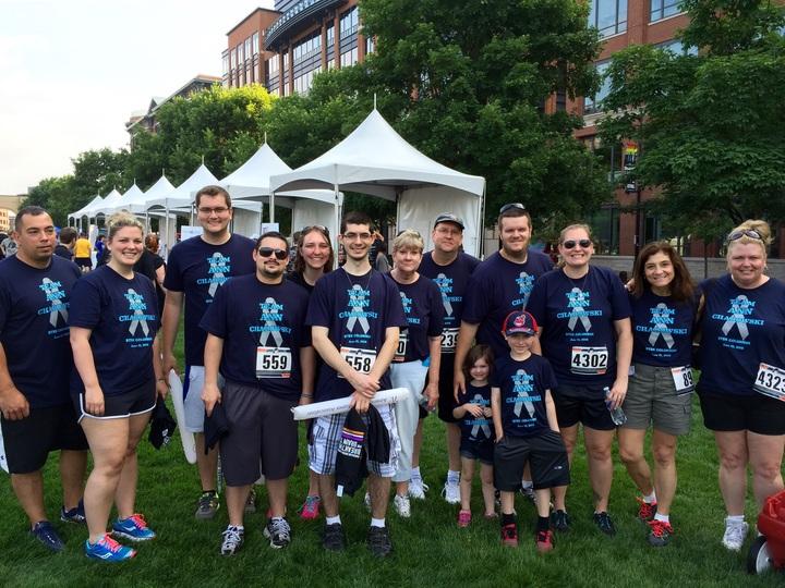 Team Ann Chadowski T-Shirt Photo