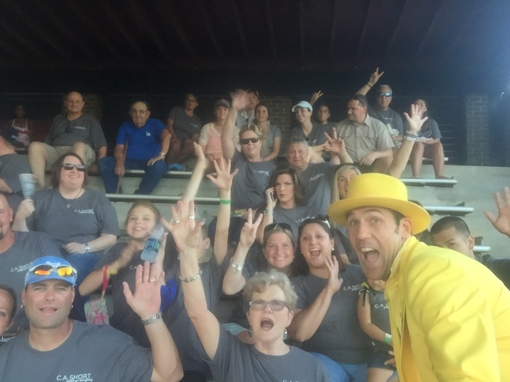 Company Outing: Gastonia Grizzlies T-Shirt Photo