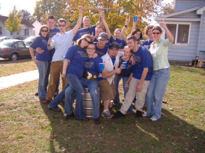 Blue Team Wins T-Shirt Photo