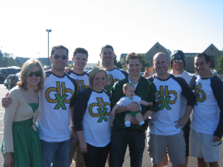 Db X Tailgate At Notre Dame / Purdue 2008 T-Shirt Photo