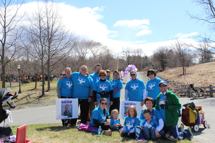 Little Giants Team   March For Babies 2015 T-Shirt Photo
