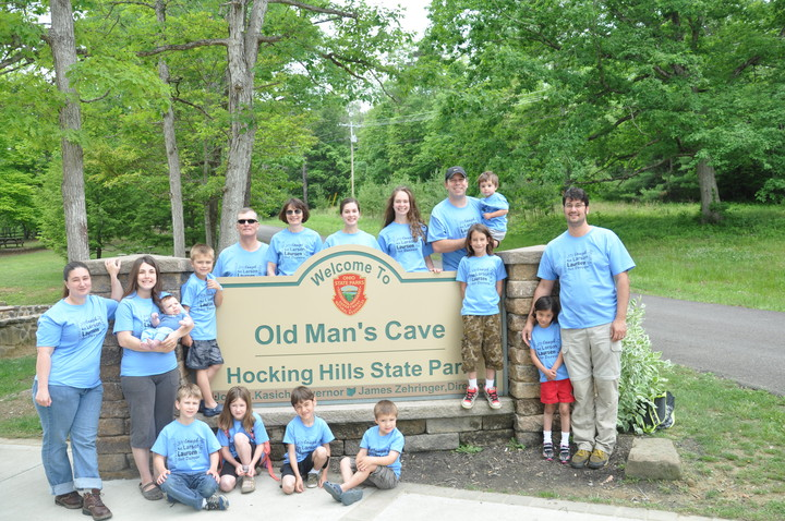 Hocking Hills Family Vacation T-Shirt Photo