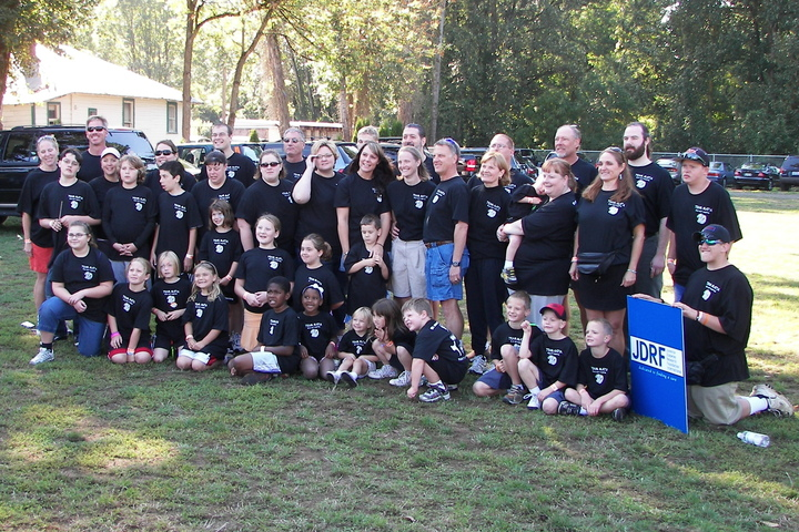 Walk To Cure Diabetes Team Matia T-Shirt Photo