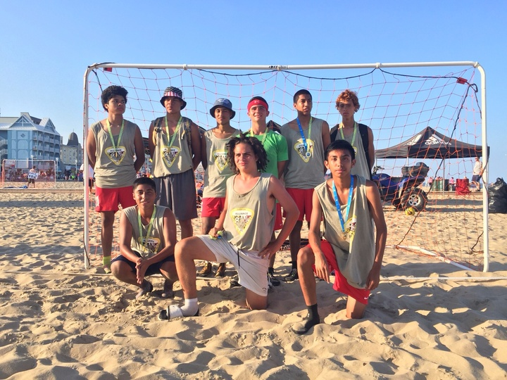 2015 Beach Soccer Champions T-Shirt Photo